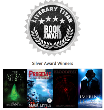 Literary Titan - Silver Award